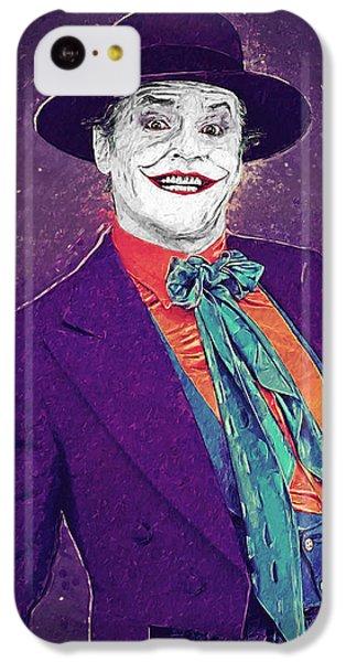 The Joker IPhone 5c Case by Taylan Apukovska