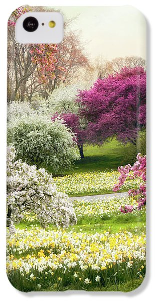 IPhone 5c Case featuring the photograph The Joy Of Spring by Jessica Jenney