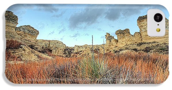 IPhone 5c Case featuring the photograph The Kansas Badlands by JC Findley