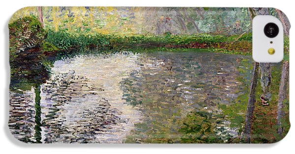 Impressionism iPhone 5c Case - The Lake At Montgeron by Claude Monet