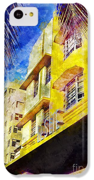 The Leslie Hotel South Beach IPhone 5c Case