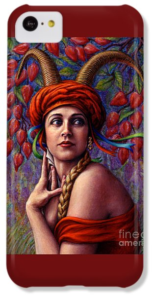 The Letter IPhone 5c Case by Jane Bucci