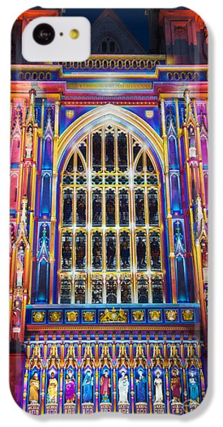 The Light Of The Spirit Westminster Abbey London IPhone 5c Case by Tim Gainey