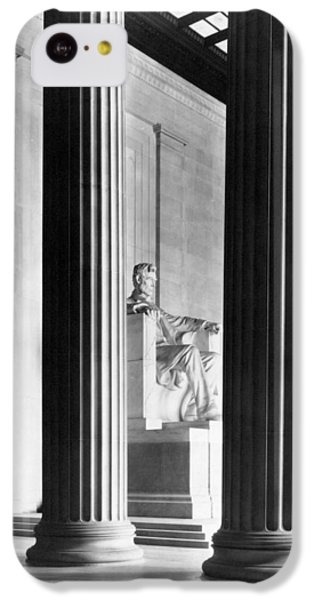 Lincoln Memorial iPhone 5c Case - The Lincoln Memorial by War Is Hell Store