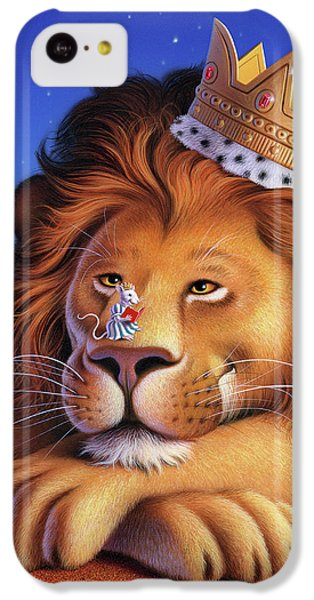Mouse iPhone 5c Case - The Lion King by Jerry LoFaro