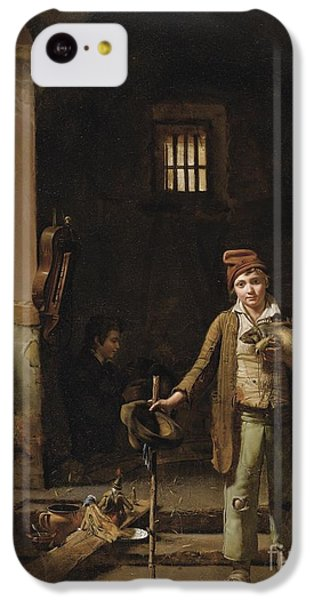 The Little Savoyards' Bedroom Or The Little Groundhog Shower IPhone 5c Case by Celestial Images