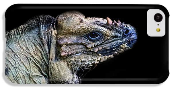 Salamanders iPhone 5c Case - The Lizard King by Martin Newman