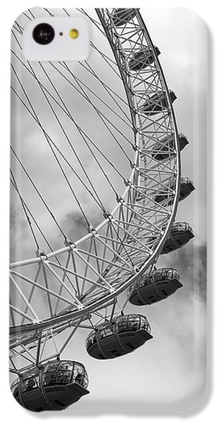 The London Eye, London, England IPhone 5c Case by Richard Goodrich