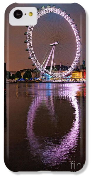 London iPhone 5c Case - The London Eye by Smart Aviation