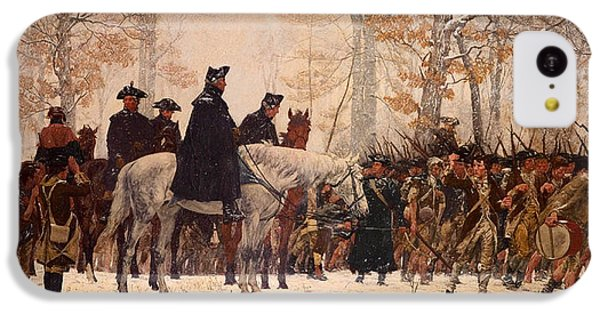 The March To Valley Forge IPhone 5c Case