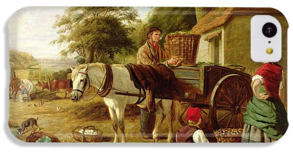 The Market Cart IPhone 5c Case by Henry Charles Bryant