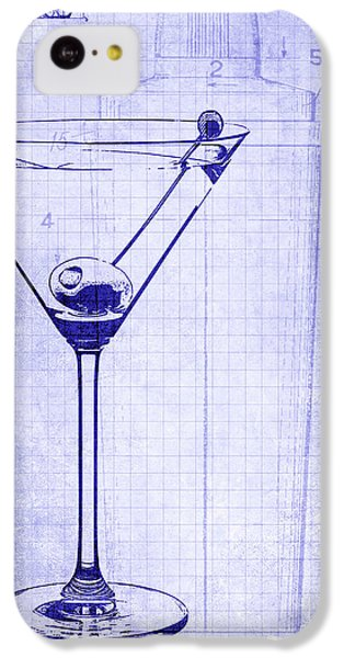 The Martini Blueprint IPhone 5c Case
