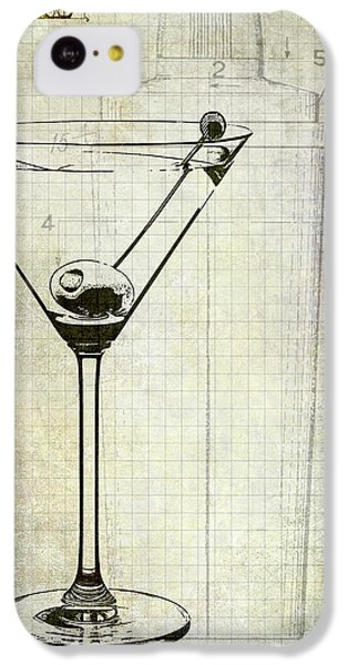 The Martini IPhone 5c Case by Jon Neidert