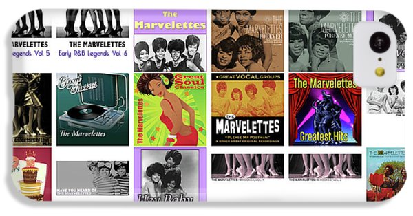 Rhythm And Blues iPhone 5c Case - The Marvelettes 1 by Smart Aviation