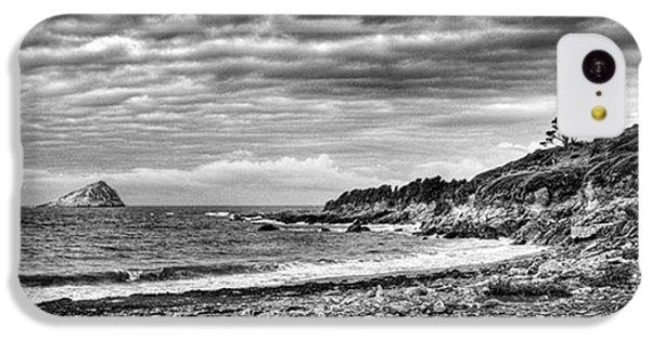 Sky iPhone 5c Case - The Mewstone, Wembury Bay, Devon #view by John Edwards