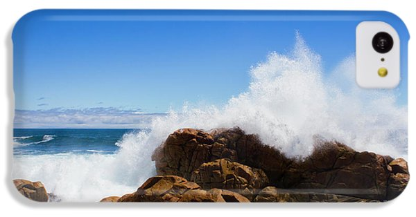 IPhone 5c Case featuring the photograph The Might Of The Ocean by Jorgo Photography - Wall Art Gallery