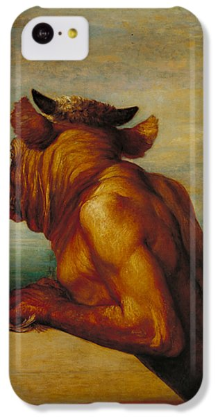 The Minotaur IPhone 5c Case by George Frederic Watts