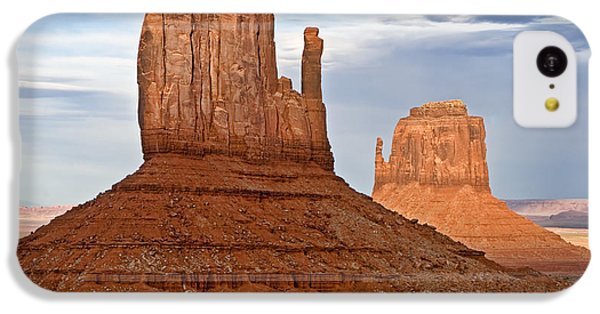 Desert iPhone 5c Case - The Mittens by Peter Tellone