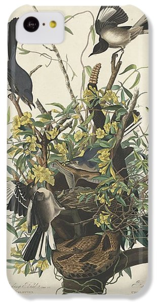 Mockingbird iPhone 5c Case - The Mockingbird by Dreyer Wildlife Print Collections