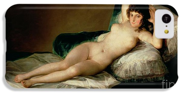 Nudes iPhone 5c Case - The Naked Maja by Goya