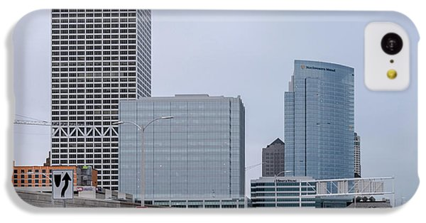 IPhone 5c Case featuring the photograph The New Milwaukee Skyline by Randy Scherkenbach