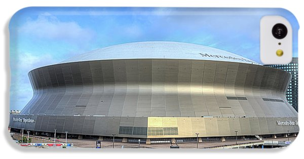 IPhone 5c Case featuring the photograph The New Orleans Superdome by JC Findley