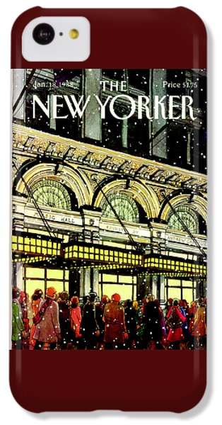 Musical iPhone 5c Case - The New Yorker Cover - January 18th, 1988 by Roxie Munro