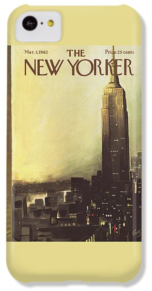 The New Yorker Cover - March 3rd, 1962 IPhone 5c Case