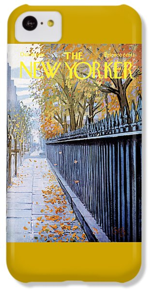 Autumn In New York IPhone 5c Case