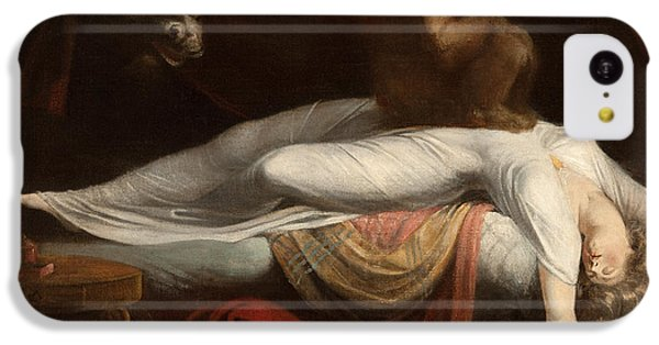 Fairy iPhone 5c Case - The Nightmare by Henry Fuseli