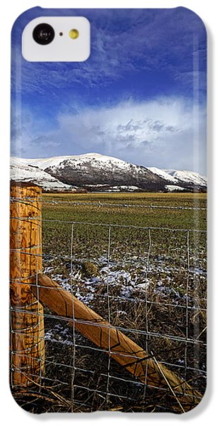 IPhone 5c Case featuring the photograph The Ochils In Winter by Jeremy Lavender Photography
