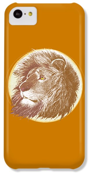 The One True King IPhone 5c Case by J L Meadows