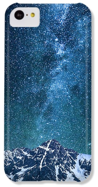IPhone 5c Case featuring the photograph The One Who Holds The Stars by Aaron Spong