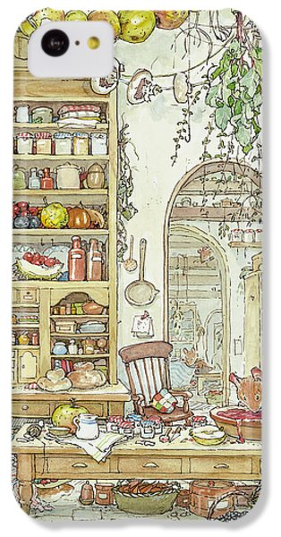 Mouse iPhone 5c Case - The Palace Kitchen by Brambly Hedge