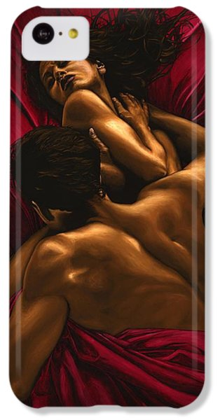 Nudes iPhone 5c Case - The Passion by Richard Young