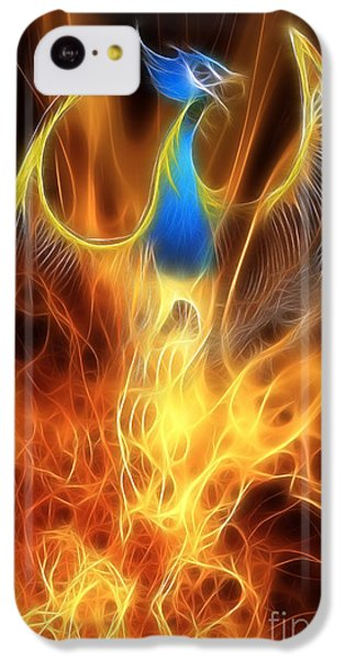 The Phoenix Rises From The Ashes IPhone 5c Case by John Edwards