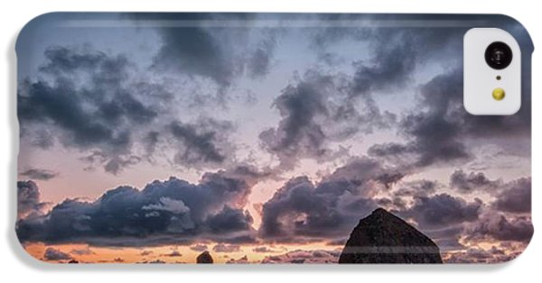 iPhone 5c Case - The Photogaph Was Taken Of Haystack by Jon Glaser