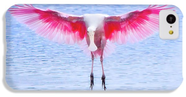 The Pink Angel IPhone 5c Case by Mark Andrew Thomas
