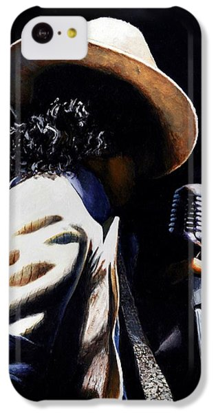 The Pop King IPhone 5c Case by Emerico Imre Toth