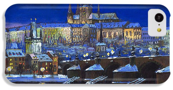 Castle iPhone 5c Case - The Prague Panorama by Yuriy Shevchuk