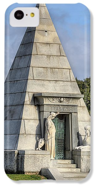 IPhone 5c Case featuring the photograph The Pyramid In Metairie Cemetery by JC Findley