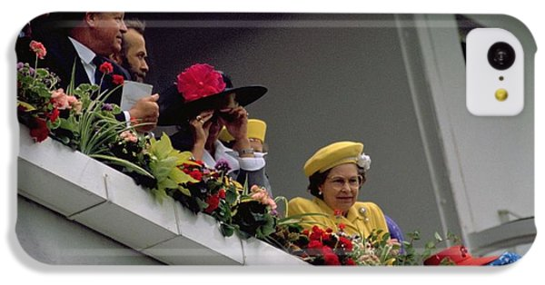 The Queen At Derby Day 1988 IPhone 5c Case