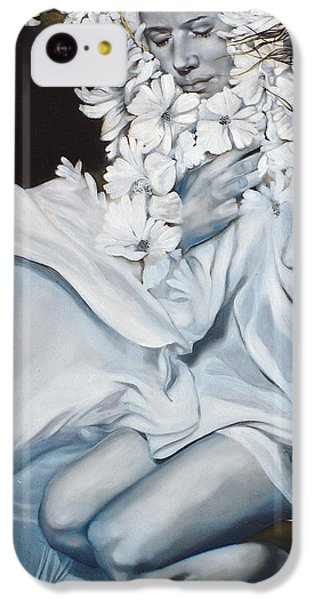 Figurative iPhone 5c Case - The Quintessence Of Matter by Patricia Ariel