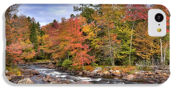 IPhone 5c Case featuring the photograph The Rapids On The Moose River by David Patterson