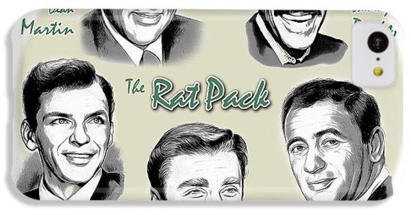 Frank Sinatra iPhone 5c Case - The Rat Pack by Greg Joens
