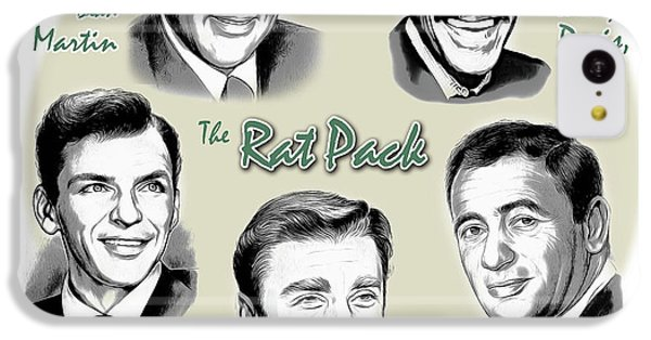 The Rat Pack IPhone 5c Case by Greg Joens