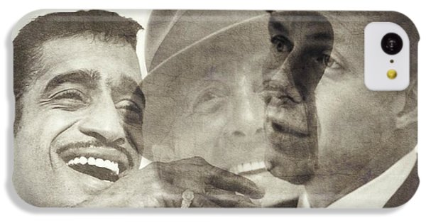 Frank Sinatra iPhone 5c Case - The Rat Pack by Paul Lovering