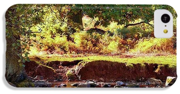 Sky iPhone 5c Case - The River Lin , Bradgate Park by John Edwards