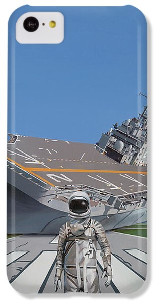 IPhone 5c Case featuring the painting The Runway by Scott Listfield
