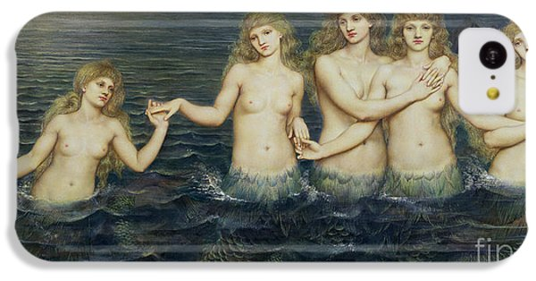 The Sea Maidens IPhone 5c Case by Evelyn De Morgan